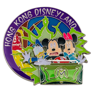 Minnie, Mickey and Donald  - Mystic Point Grand Opening 2013 pin