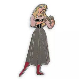 Briar Rose/Aurora singing pin