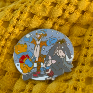 Winnie the pooh snow day  pin