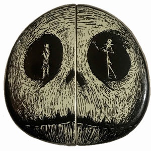 DS - Tim Burton's The Nightmare Before Christmas - Jack and Sally in Skull (Set) pin