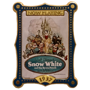 1937 Snow White Theatrical Poster - 100 Years of Dreams (10/100) pin