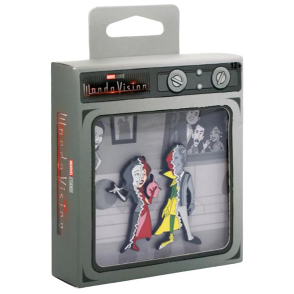 Wanda - Marvel WandaVision Split Reality Enamel Pin Set pin
