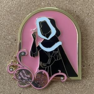 Winter Belle Silhouette pin