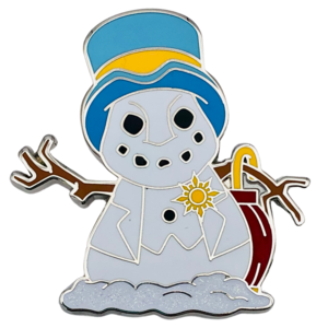 Jiminy Cricket Mystery Snowman pin