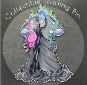 Hades, Pain and Panic Artland Jumbo Silver pin