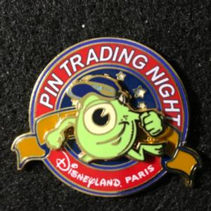 DLP Pin Trading Night Mike Wazowski pin