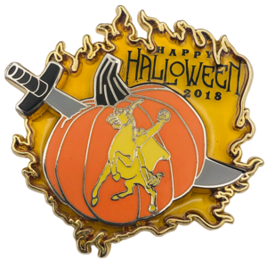 Happy Halloween 2018 - Headless Horseman - Annual Passholder DLR pin