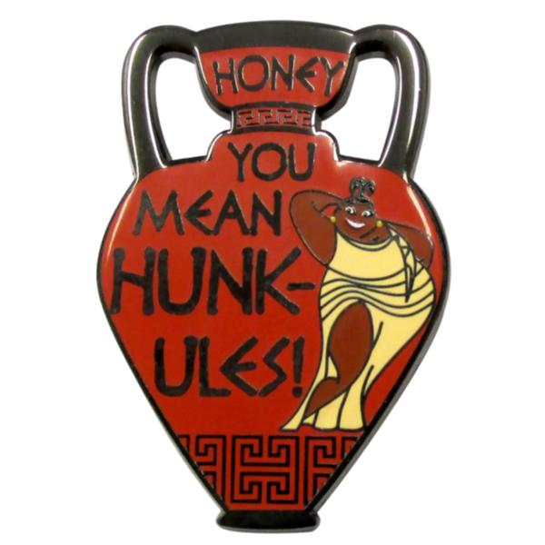 Thalia Flair Pin – Hercules - Honey you mean Hunk-ules! pin