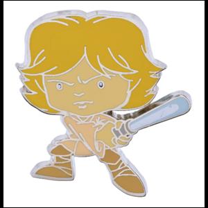 Luke Skywalker cute pin