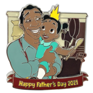 Happy Father's Day 2021 - The Princess and the Frog Father's Day 2021 Pin pin