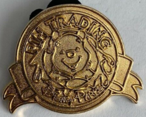 Winnie the Pooh (Gold) - Keep on Trading Mystery Collection pin