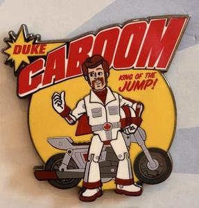 Duke Caboom King of the Jump pin