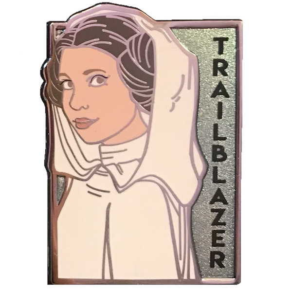 Her Universe & Karen Hallion - Intergalactic Women of Star Wars - Leia Organa: Trailblazer pin