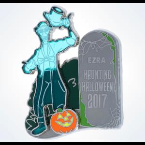 Ezra haunting Halloween 2017 pin