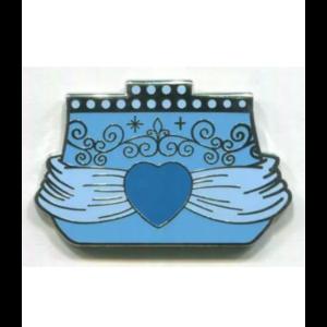 Cinderella purse pin