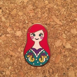 Ariel - Nesting Dolls pin