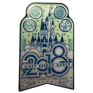 2018 Walt Disney World - The year to be here pin