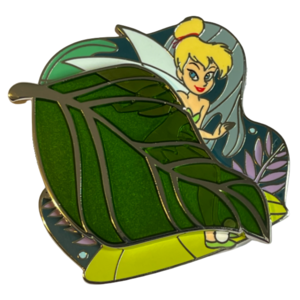 Tinkerbell green leaf - Disney Store Online Park Pack pin