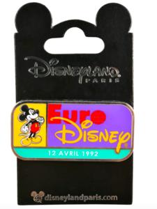 EuroDisney - 1992  pin