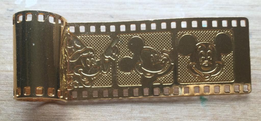 Golden film strip Mickey