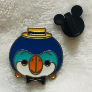 Adventure land blue bird pin