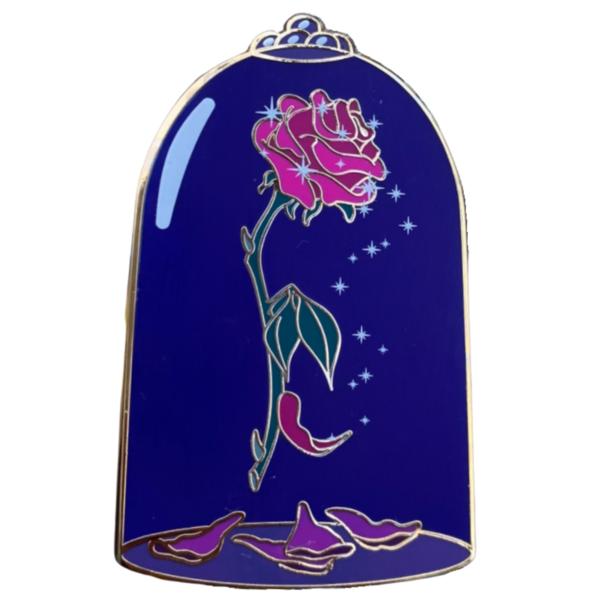 La Belle et la Bête - Enchanted Rose pin