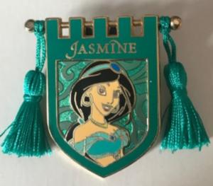 Jasmine - Tapestry pin