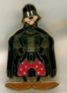 Goofy as Darth Vader - Star Wars Booster Pack pin