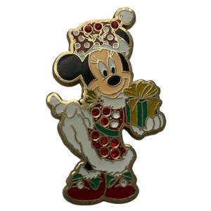 Minnie Christmas Dress with Gems  pin