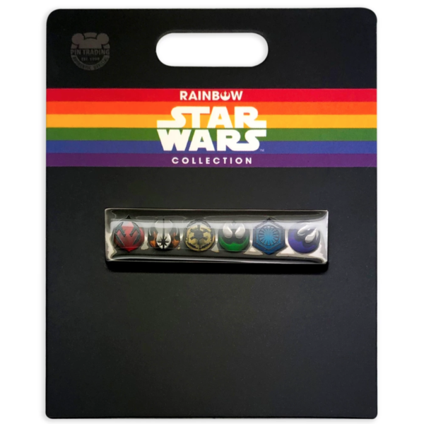 Star Wars Icons Pin – Rainbow Star Wars Collection pin