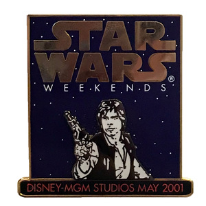 Star Wars Weekends - 2001 - Han Solo pin