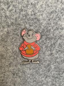 Bernard from the Rescuers set pin