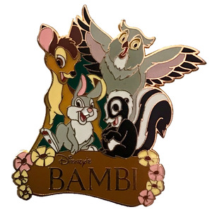 Bambi Friends Cluster pin