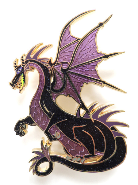 Maleficent dragon pin