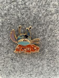 Crawling Alien Stitch - Deluxe Stitch Lanyard  pin