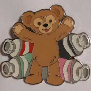 Duffy Multiple Paint Tubes - Welcome Gelatoni Mystery pin