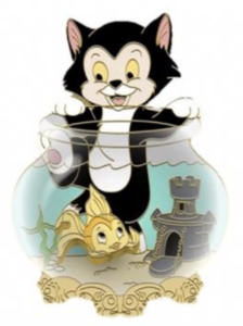 Figaro and Cleo - FairyTails Event pin