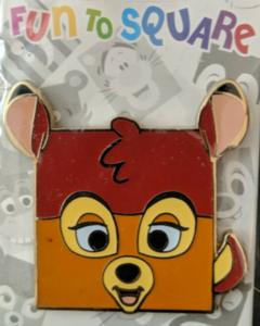 Bambi - Fun to Square pin