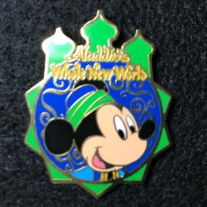 TDS Aladdins Whole New World Mickey pin