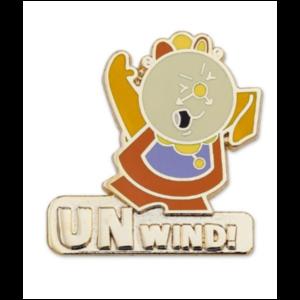 Cogsworth Unwind - Disney Store Duos pin