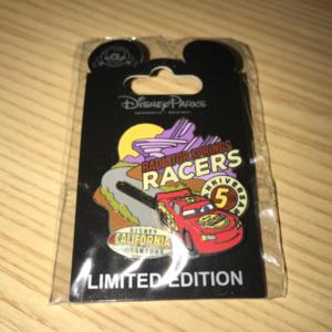Radiator springs racers. Lightning McQueen  pin