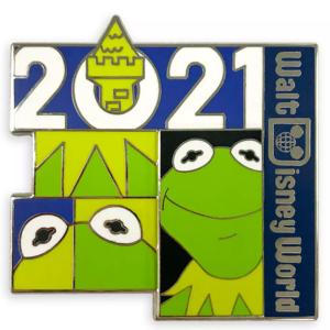Kermit the Frog 2021 Walt Disney World pin