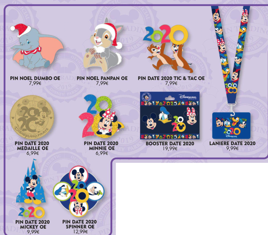 12th October open edition pin releases