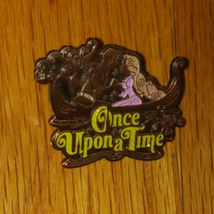 TDL Once Upon a Time Tangled Pin pin