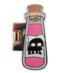 Emperor's New Groove hinged potion bottle pin