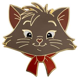 Berlioz - Madame Catspurrr - Aristocats heads pin