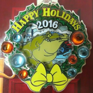Port Orleans - Holiday Wreaths Resort Collection pin
