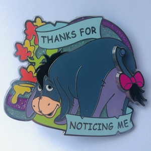 Eeyore, thanks for noticing me pin