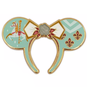 Minnie Mouse Main Attraction Carrousel ears pin