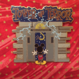 Mickey Tower of Terror Elevator pin